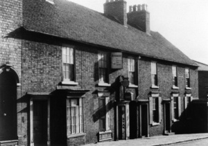 The frontage of the shop in the 1960s around the time it was run by my mother in Frank Richardson's absence.