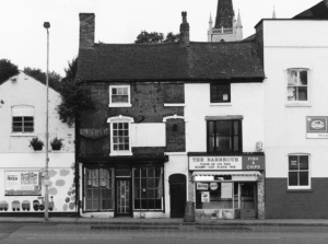 The premises once occupied by Ditchfields and now standing empty on this picture taken in 1998.