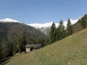Passe della Portula terrain.