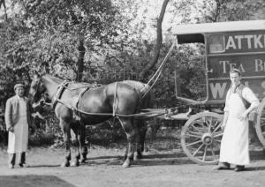 The company vehicle.