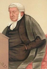 George William Wilshere Bramwell 1808-1892. First Baron Bramwell.