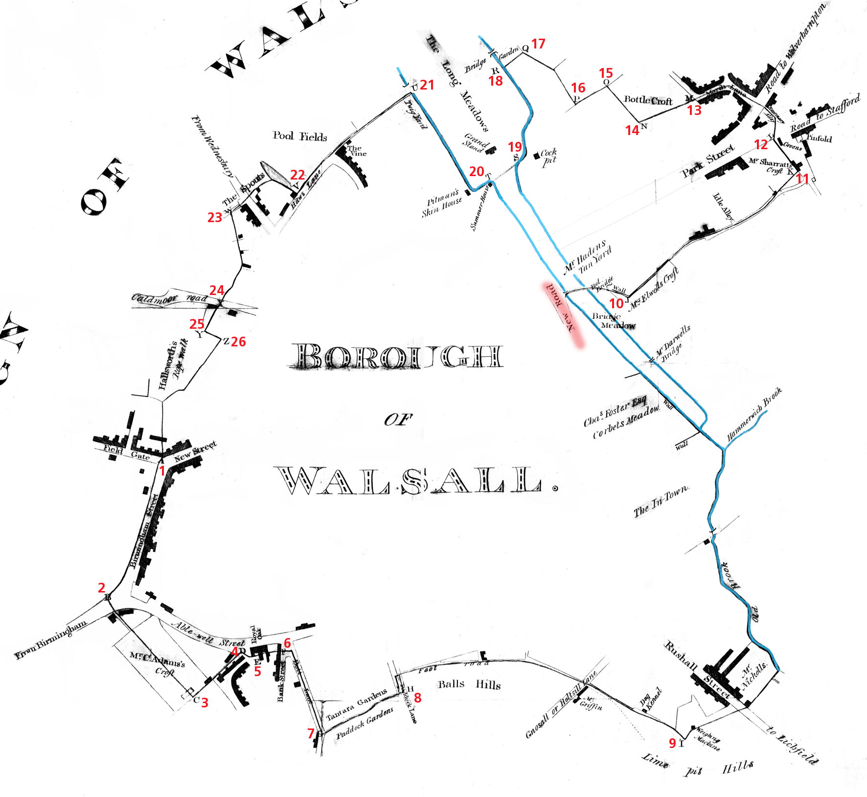 The Borough of Walsall 1814200 years ago Walsall Life