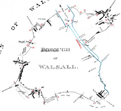 1814 map of Walsall copy
