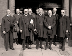 Members of the Diocesan Conference held at the Co-op in Ocotber 1929.
