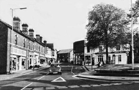 Caldmore Green or what's left of it in 1981.