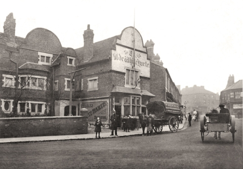 The Caldmore Green my grandparents knew in 1915.