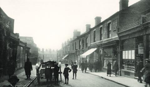 Caldmore Road 1917