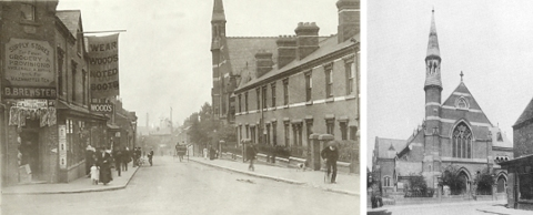 Corporation St and church