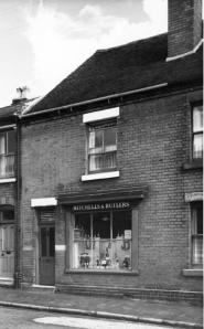 Rutter Street off-licence c.1960.