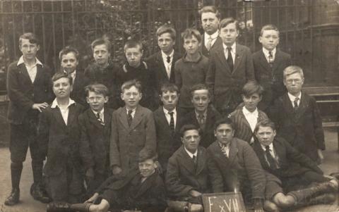 Whitehall boys 1930s