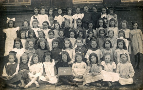 This the earliest picture I have for Whitehall Schools. Although not dated it surely must fit the time frame of Paul's post perfectly.