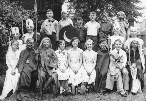 Whitehall School Play 1958