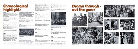 Chrono' & drama spread
