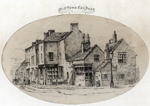 A copy of the well known illustration of Townend Bank c.1880.