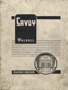 Savoy cover