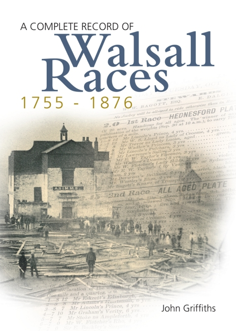 Walsall Races new cover