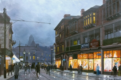Bradford St painting