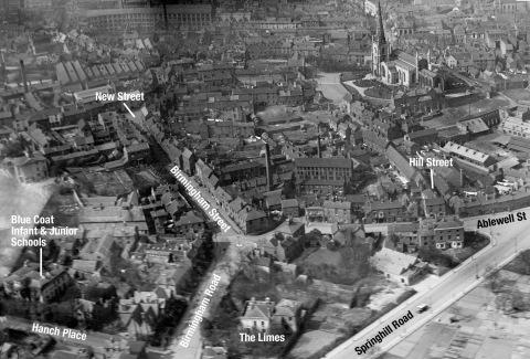 Birmingham St 1921 aerial